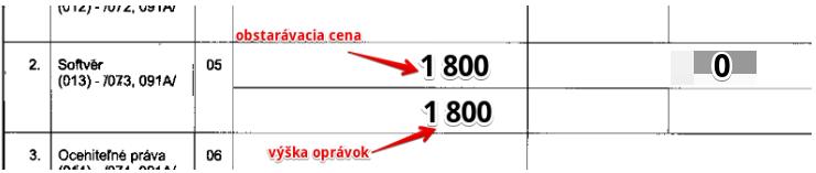 073 – Oprávky k softvéru